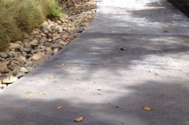 Another example of driveway drainage.