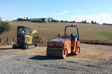 Get a site ready for a shed slab!